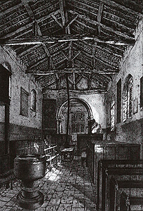 The interior looking east in 1854 [P34/28/19]